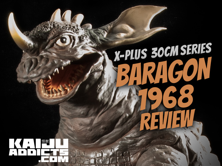 Kaiju Addicts Full Review of the X-Plus Wonder Festival 30cm Series Baragon 1968 Vinyl Statue Figure.