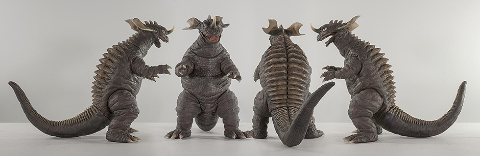 X-Plus Baragon 1968 from all angles.
