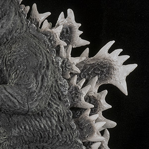 X-Plus Godzilla Vinyl - Fins Close-up.