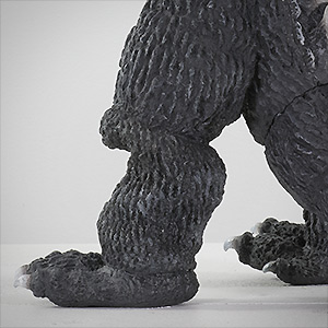 X-Plus Godzilla Vinyl - Knee Close-up.