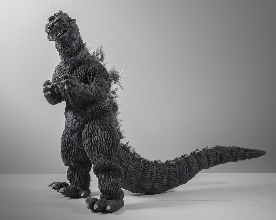 X-Plus Godzilla 1955 Vinyl Figure sculpt.
