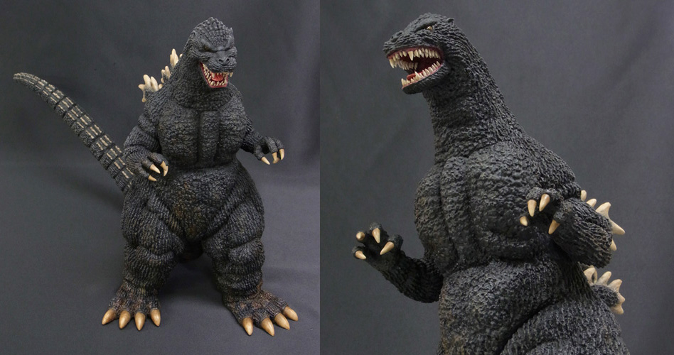 X-Plus Real Master Collection Godzilla 1989 Resin Figure.