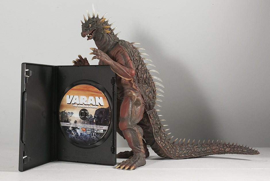 Size Comparison: X-Plus Varan with DVD.