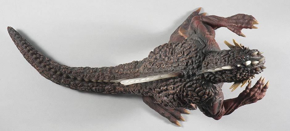 X-Plus Varan Vinyl Figure - Top View.