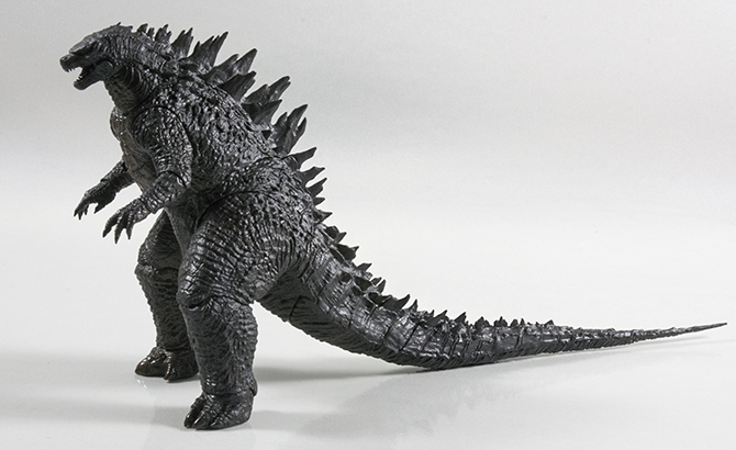 NECA Godzilla 12inch Head-to-Tail Action Figure - forward angle.