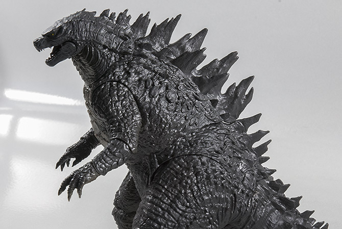 NECA 12inch Head to Tail Action Figure - Side View Close-up.