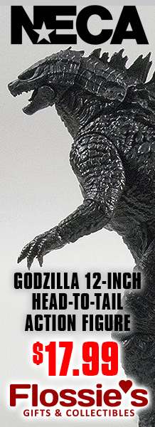NECA Godzilla 12-inch Head-to-Tail Action Figure Available Now at Flossie's Gifts and Collectibles