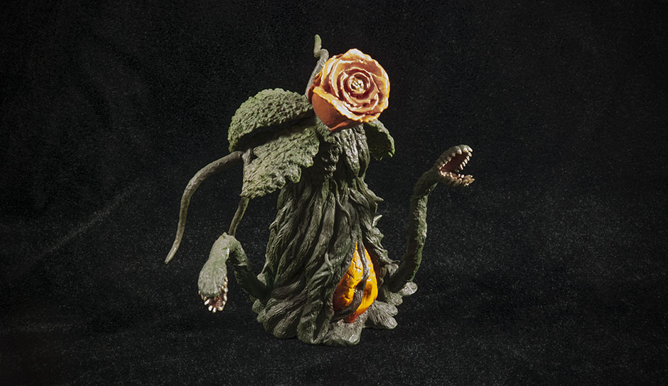 Ric Boy Exclusive extra - Rose Form Biollante.