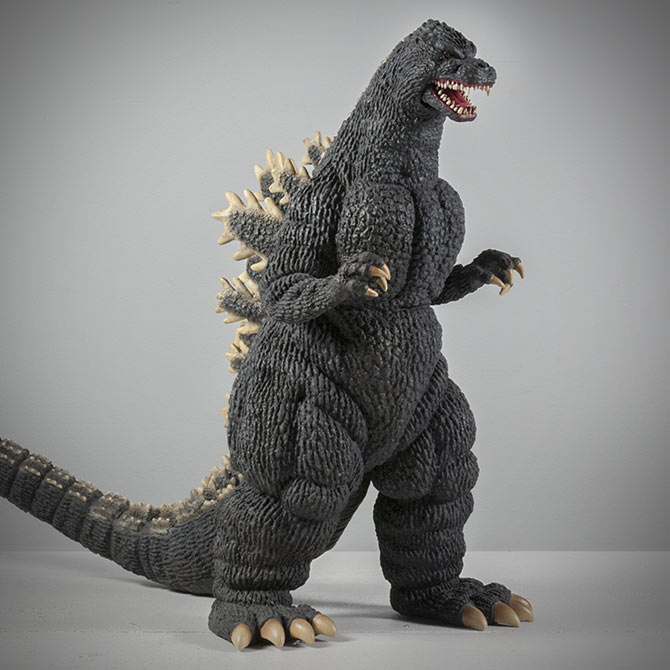 Kaiju Addicts Review of the X-Plus 30cm Godzilla 1989 Vinyl Figure.