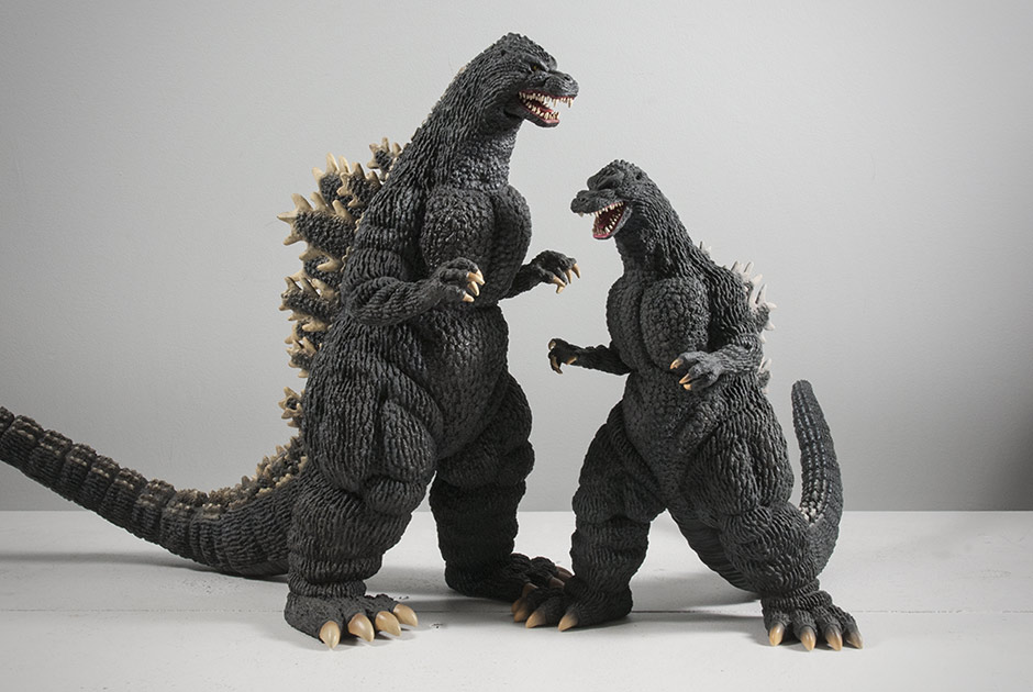 30cm Godzilla 1989 with Large Monster Series 1989.