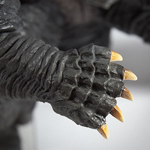 Close-up of the hand.