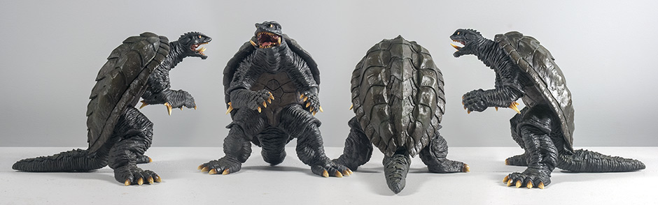 X-Plus Daiei Large Monster Series Gamera 1996 - View from all angles.
