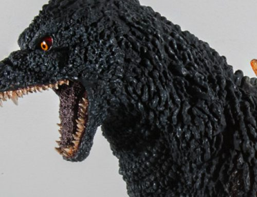 Correction: Gigantic Series Godzilla 1995 NOT Available to Take Home from G-Fest; Pre-order Only