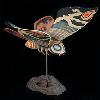 Full Review: X-Plus Large Monster Series Mothra (Imago) 1961 Vinyl Figure