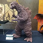 X-Plus Gigantic Series Godzilla 1964 vinyl figure prototype.
