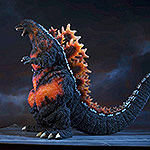 X-Plus Gigantic Series Godzilla 1995 SDCC Version vinyl figure.