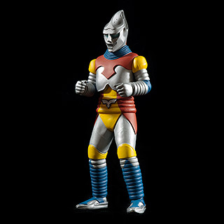X-Plus Toho Large Monster Series Jet Jaguar Vinyl Figure.