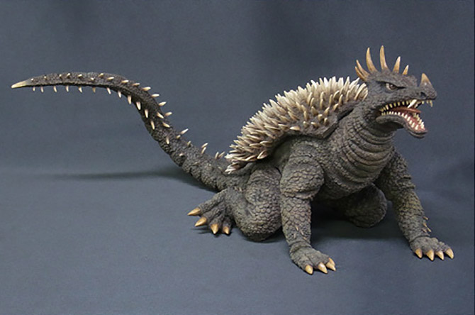 Toho Large Monster Series Anguirus 1968 vinyl figure.