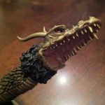 Collector Ken Gonsalves's recently shipped X-Plus King Ghidorah came missing a jaw and tongue on one head.