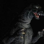 Toho Large Monster Series Godzilla 1964 vinyl figure photo by Rich Eso.