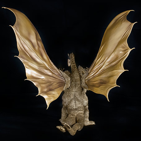 X-Plus King Ghidorah 1968 Back View.