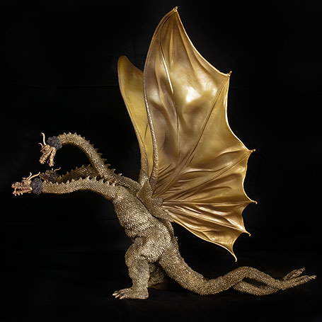 X-Plus King Ghidorah 1968 Left View.