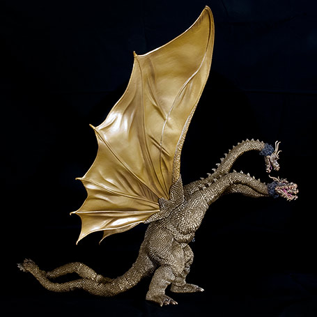 X-Plus King Ghidorah 1968 Right View.