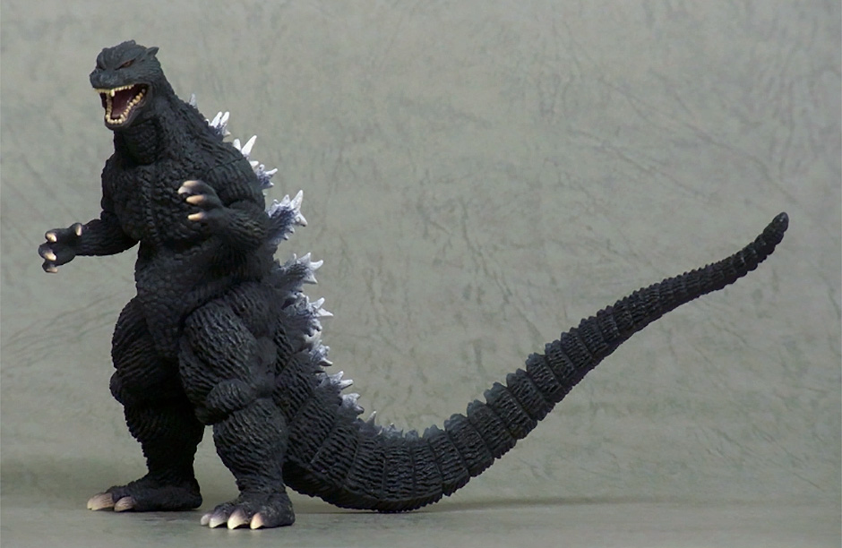 Kaiju Museum Godzilla 2004 Figurine by X-Plus.