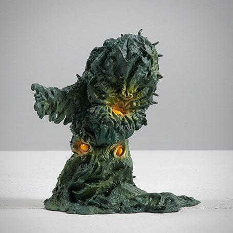 X-Plus Monster Museum Greenmons figurine.