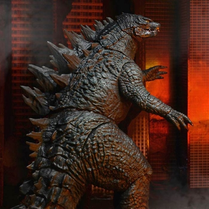 NECA Godzilla 2014 24-Inch Head-to-Tail action figure.