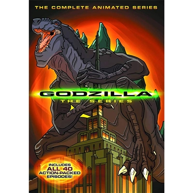 Godzilla The Series DVD Set.