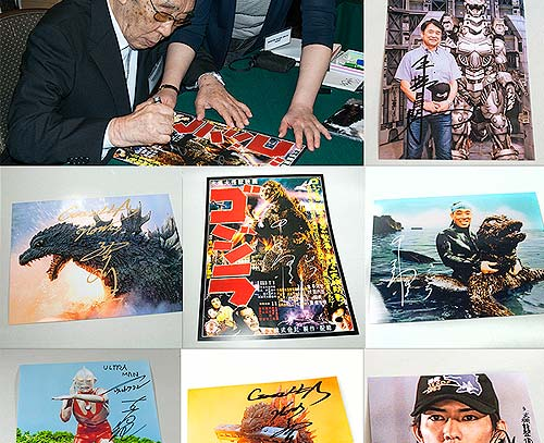 Shop for Godzilla Autographs at Flossie's Gifts & Collectibles.