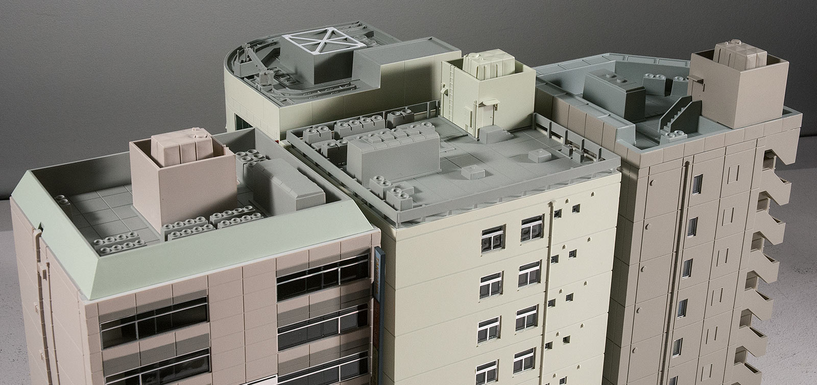 Creating Stomping Grounds For X Plus With N Scale Buildings