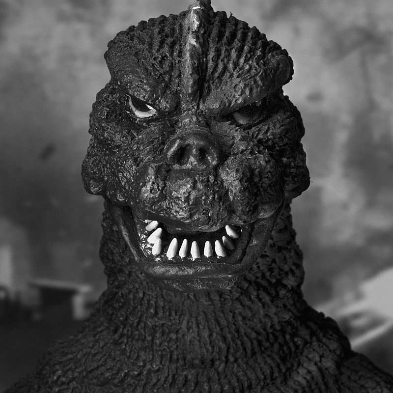X-Plus Godzilla 1975 photo by John Ruffin.