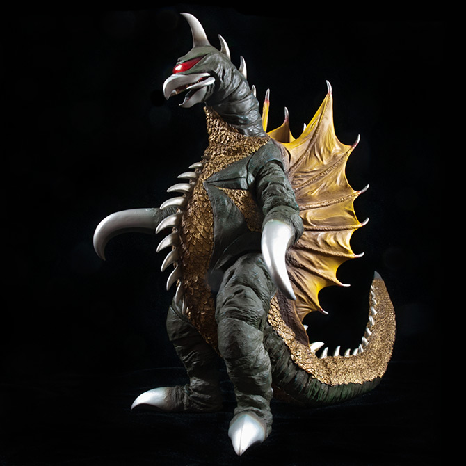 The Toho 30cm Series Gigan 1972 vinyl figure by X-Plus.