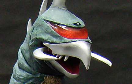 X-Plus Toho 30cm Series Gigan 1972 Vinyl Figure.
