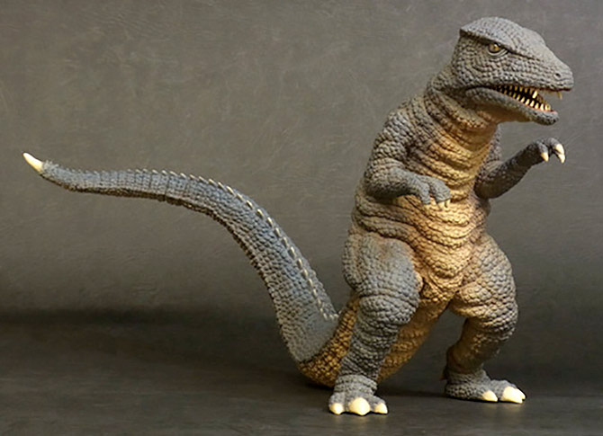 Toho Large Monster Series Gorosaurus 1968 vinyl figure.