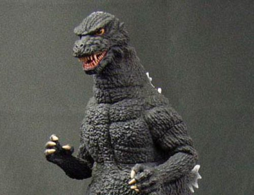 GodzillaFanFreaks Reviews the 30cm Series Godzilla 1984