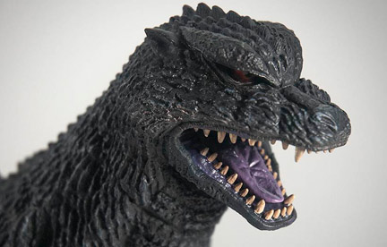 Toho 30cm Series Godzilla 2004 Vinyl Figure by X-Plus.