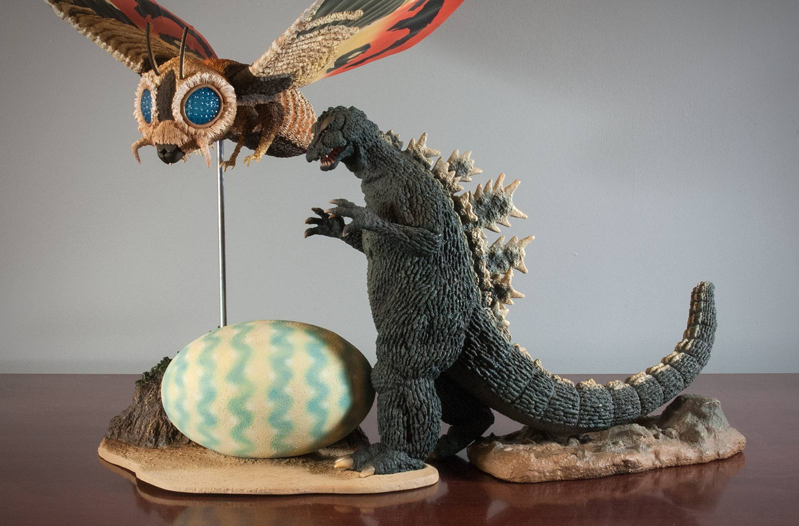 Combining an original Godzilla '64 with the new Mothra '64.