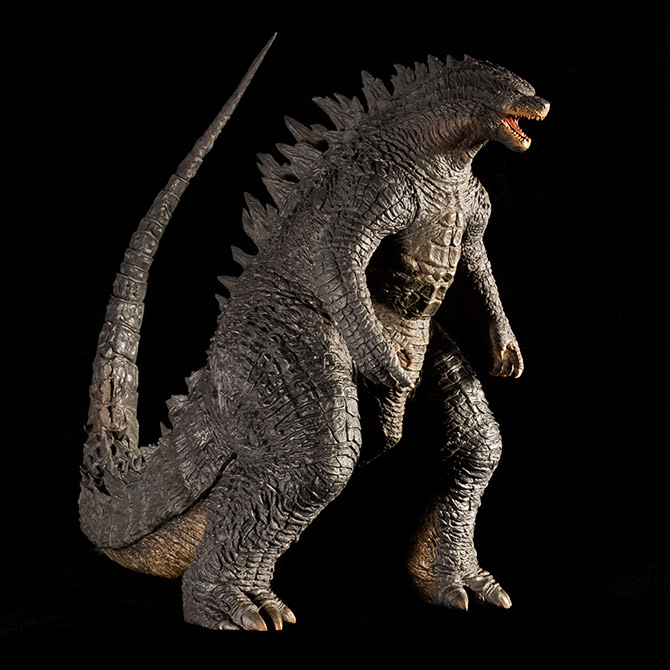 Kaiju Addicts review of the Toho 30cm Series Godzilla 2014 vinyl figure by X-Plus.