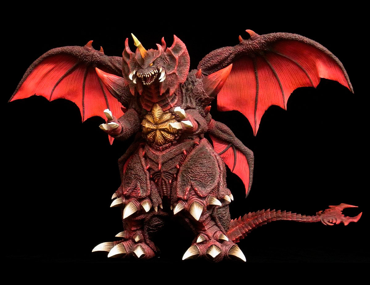 Toho Large Monster Series Destoroyah Vinyl figure by X-Plus.