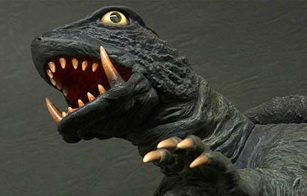 Phil the Kaiju King Double Review: X-Plus 30cm Series Gamera and Gyaos 1967