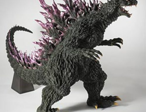 Full Review: Gigantic Series Yuji Sakai Modelling Collection Godzilla 2000 by X-Plus