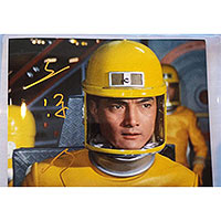 Akira Kubo as Katsuo Yamabe - Autographed 'Flying SY-3, Ver. 2' Destroy All Monsters Photo - September 2017, Japan