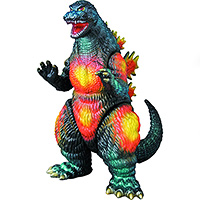 GVW PX Godzilla 1995 Roaring Sofubi available at Flossie's.