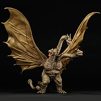 X-Plus King Ghidorah available at Flossie's Gifts & Collectibles.
