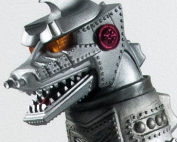 Toho Large Monster Series Mechagodzilla 1975 Vinyl Figure.