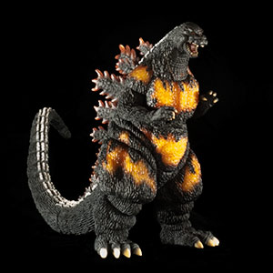 Kaiju Addicts Full Review of the Toho Large Monster Series Godzilla 1995 Vinyl Figure by X-Plus.