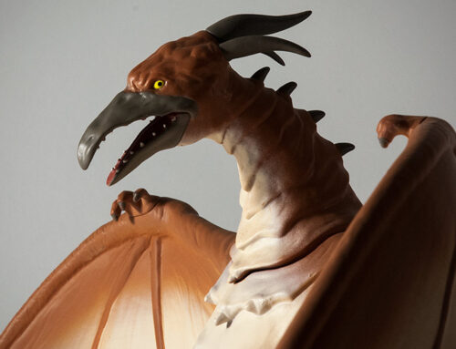 Not X-Plus, But… Quick Review: Rodan 1993 Figural Bank by Diamond Select Toys